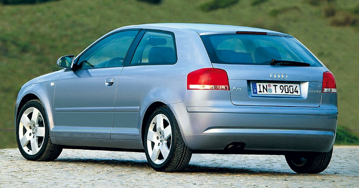 Audi A3 Second Generation 2003 - 2013 exterior picture