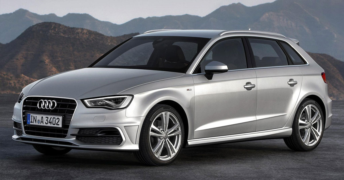 Audi A3 Third Generation 2013 - 2019 exterior picture