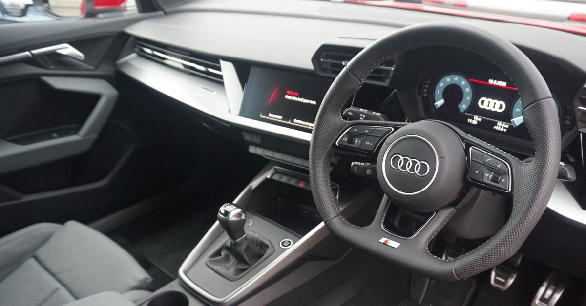 Audi A3 Fourth Generation 2020 - Current interior picture