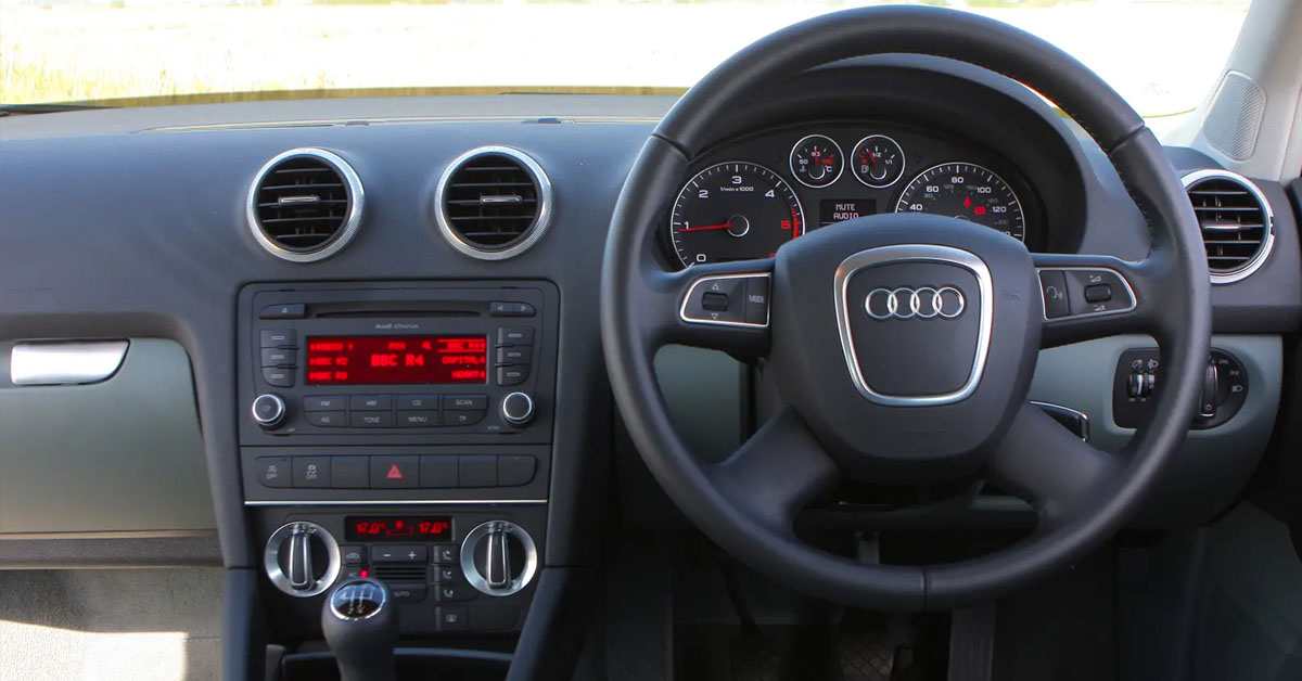 Audi A3 Second Generation 2003 - 2013 interior picture