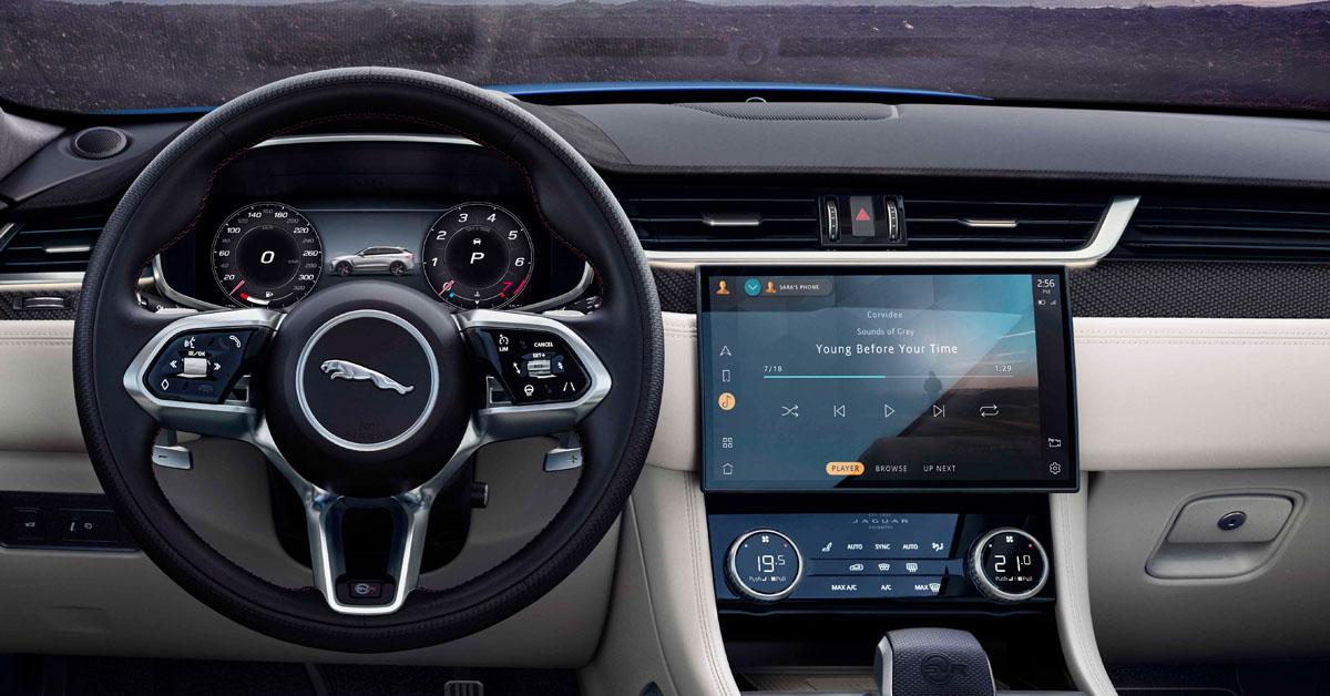 The 2020 Jaguar F Pace Svr Gets A Mid Life Update