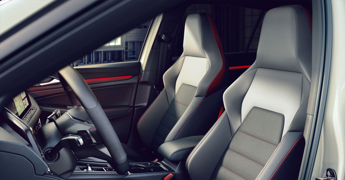 Volkswagen Golf GTI Clubsport interior