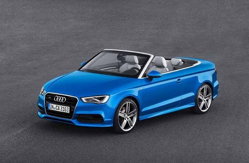 New Shape Audi A3 Cabriolet