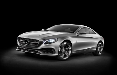 Mercedes Benz S-Class Coupe Concept Revealed