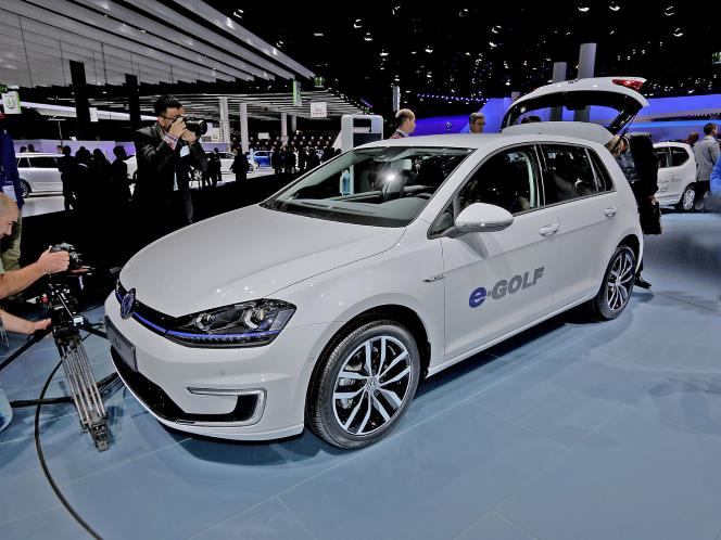 New Volkswagen e-Golf - Fully Electric Car