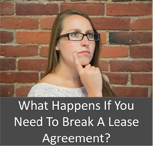 How Much Does It Cost To Break A Lease Agreement