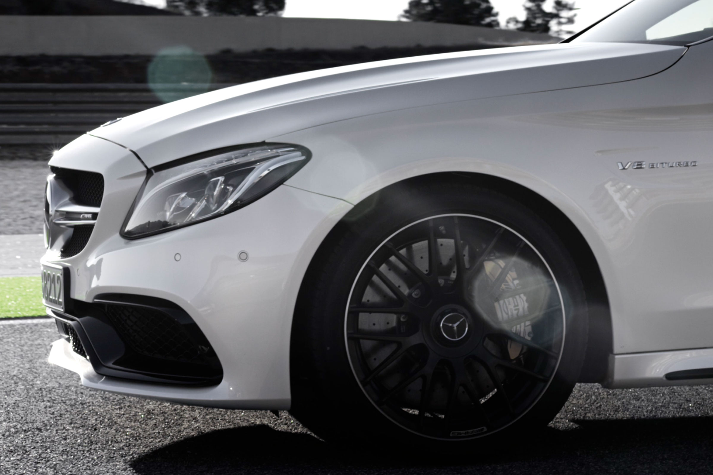 2016 Mercedes-AMG C63 Coupe teaser video