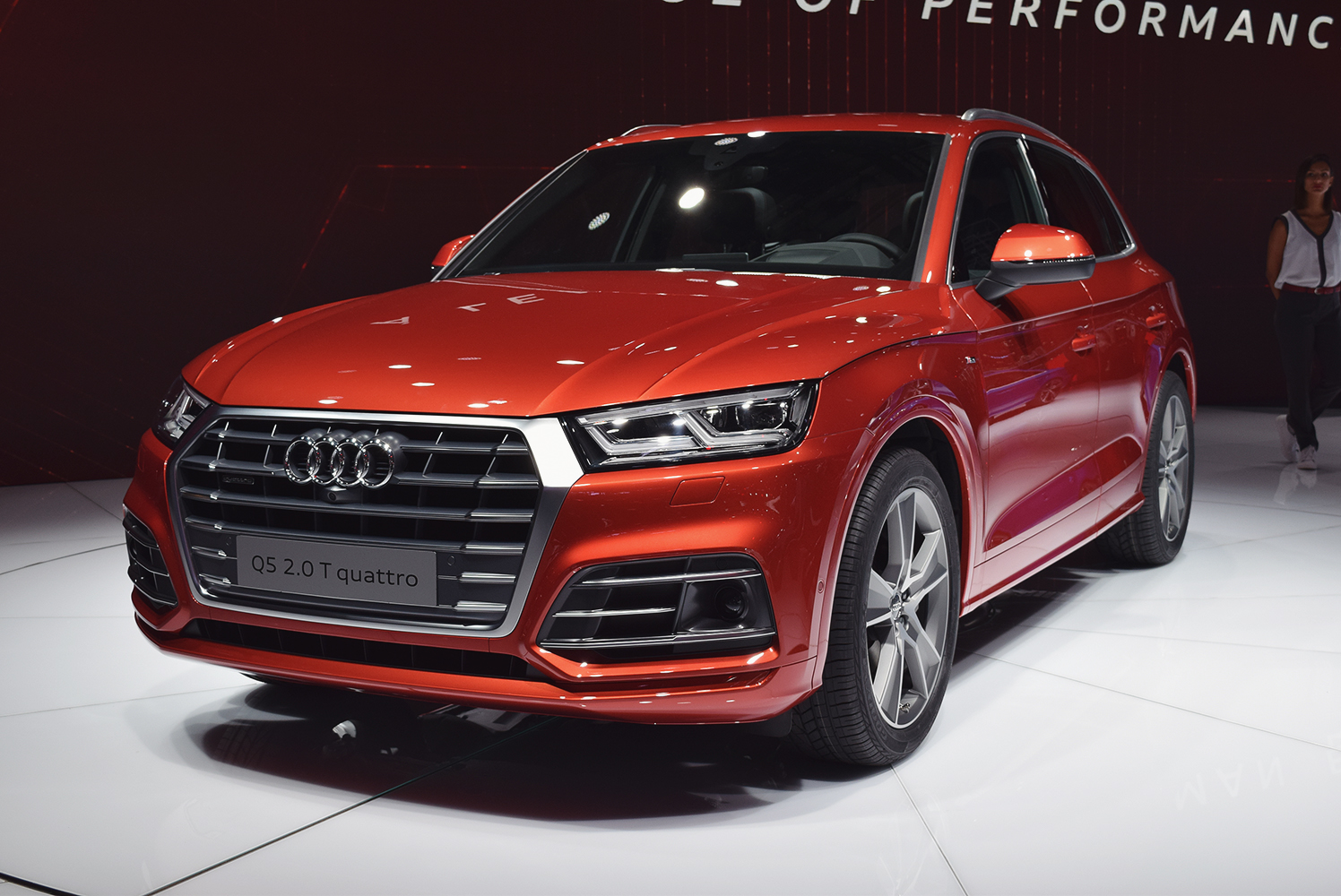 Audi Q5 at Paris Motor Show