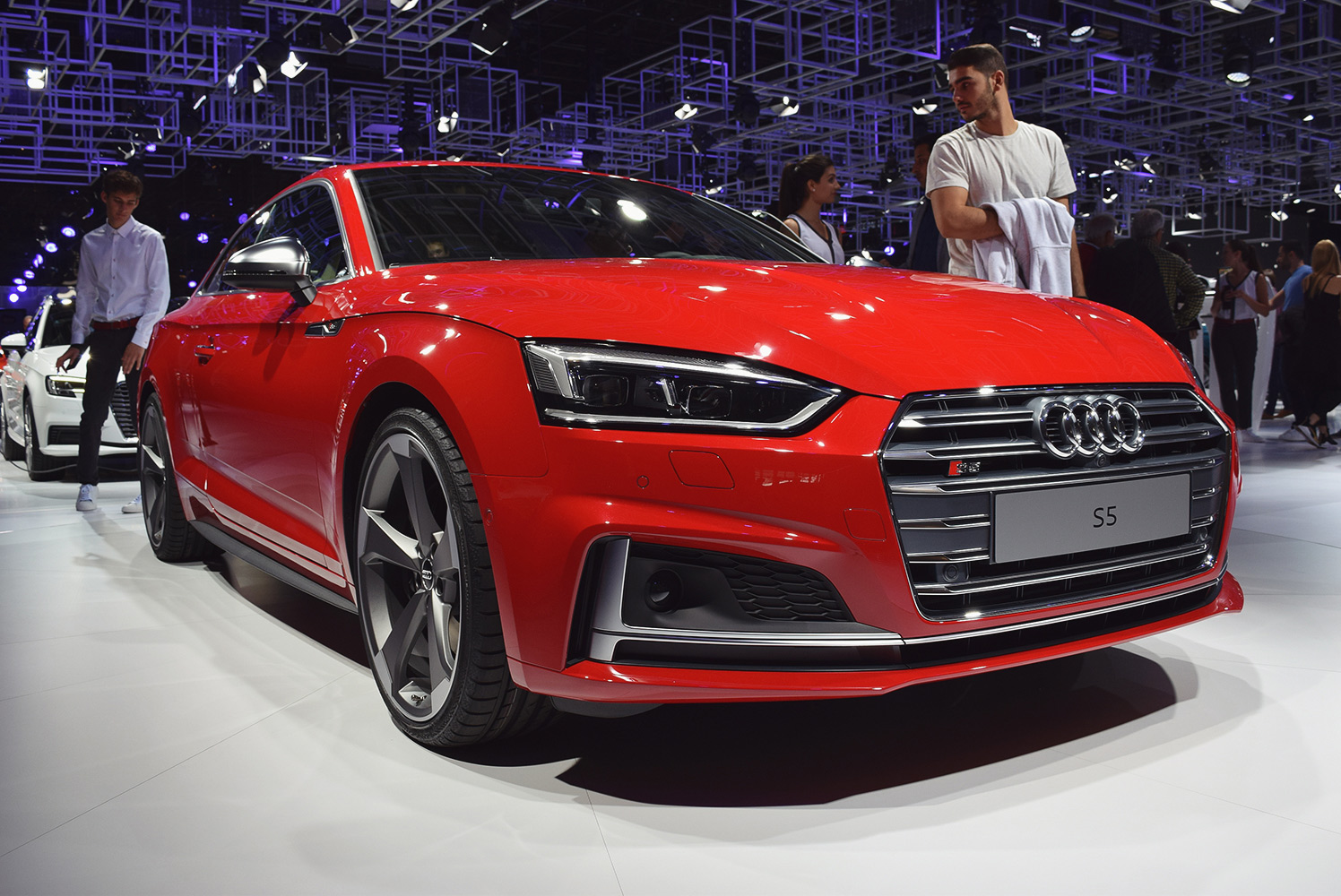 Audi S5 at Paris Motor Show