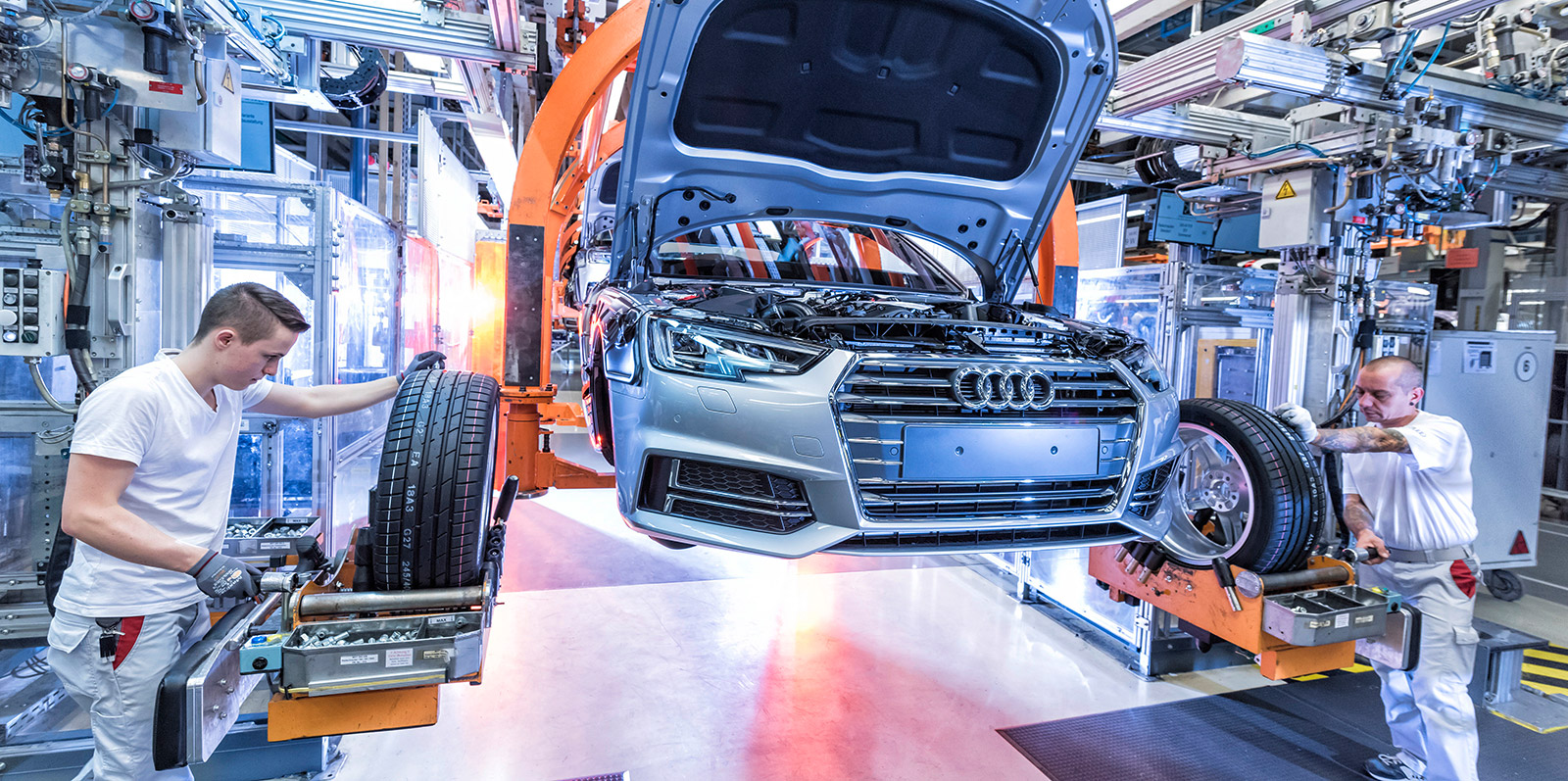 Audi Extends Employment Guarantee