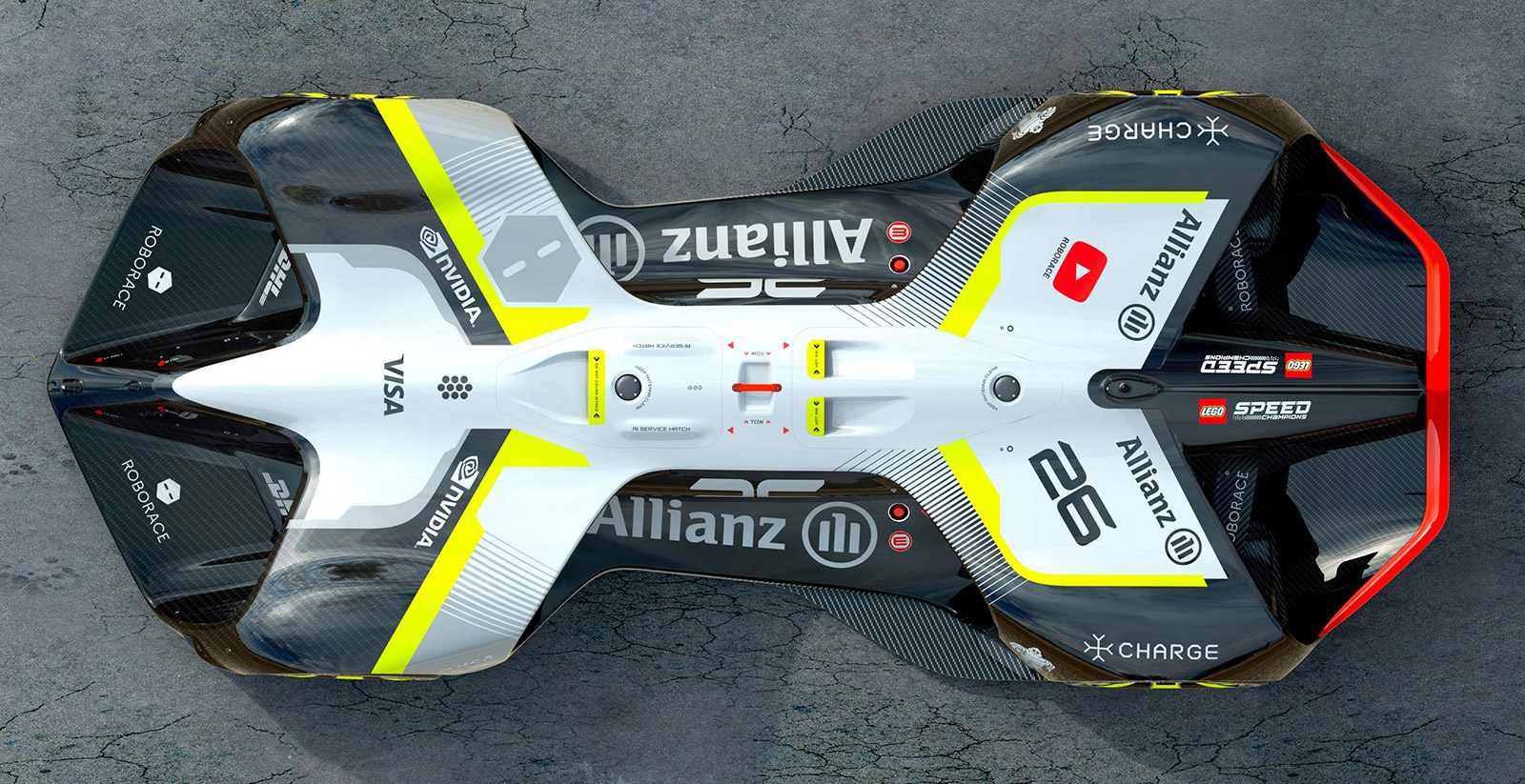 Roborace Reveals Their All-Electric Self-Driving Racecar