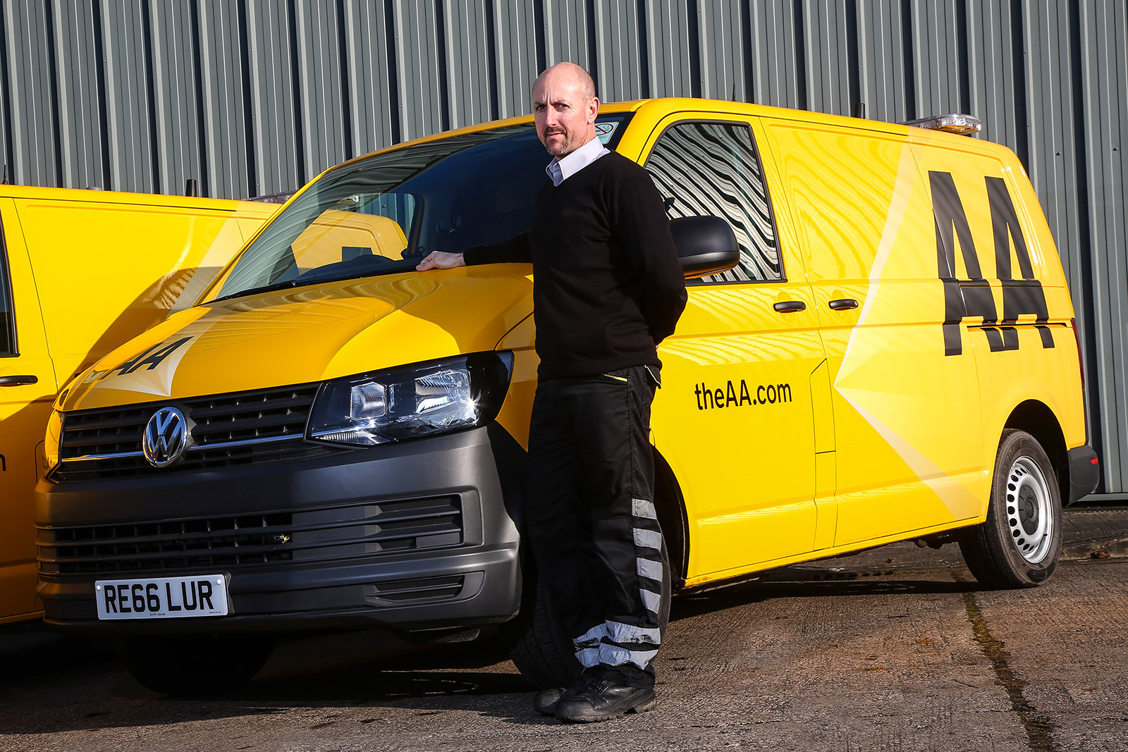 Volkswagen Supports The AA with More Transporter Vans