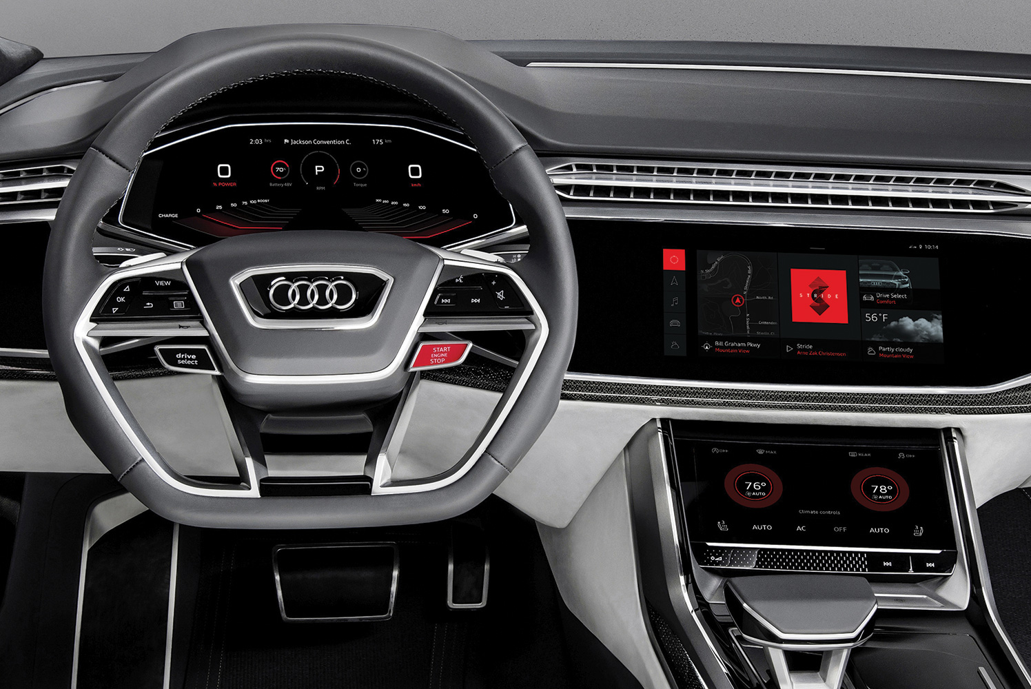 Audi Chooses Android for Future Infotainment