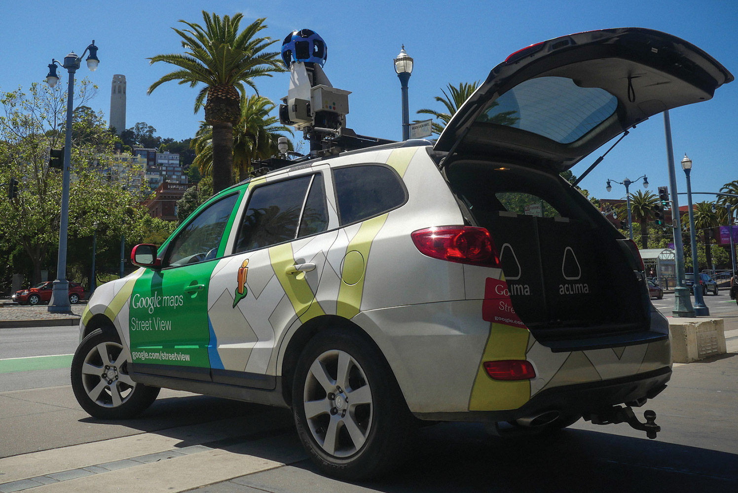 Google Street View Gathering Pollution Data
