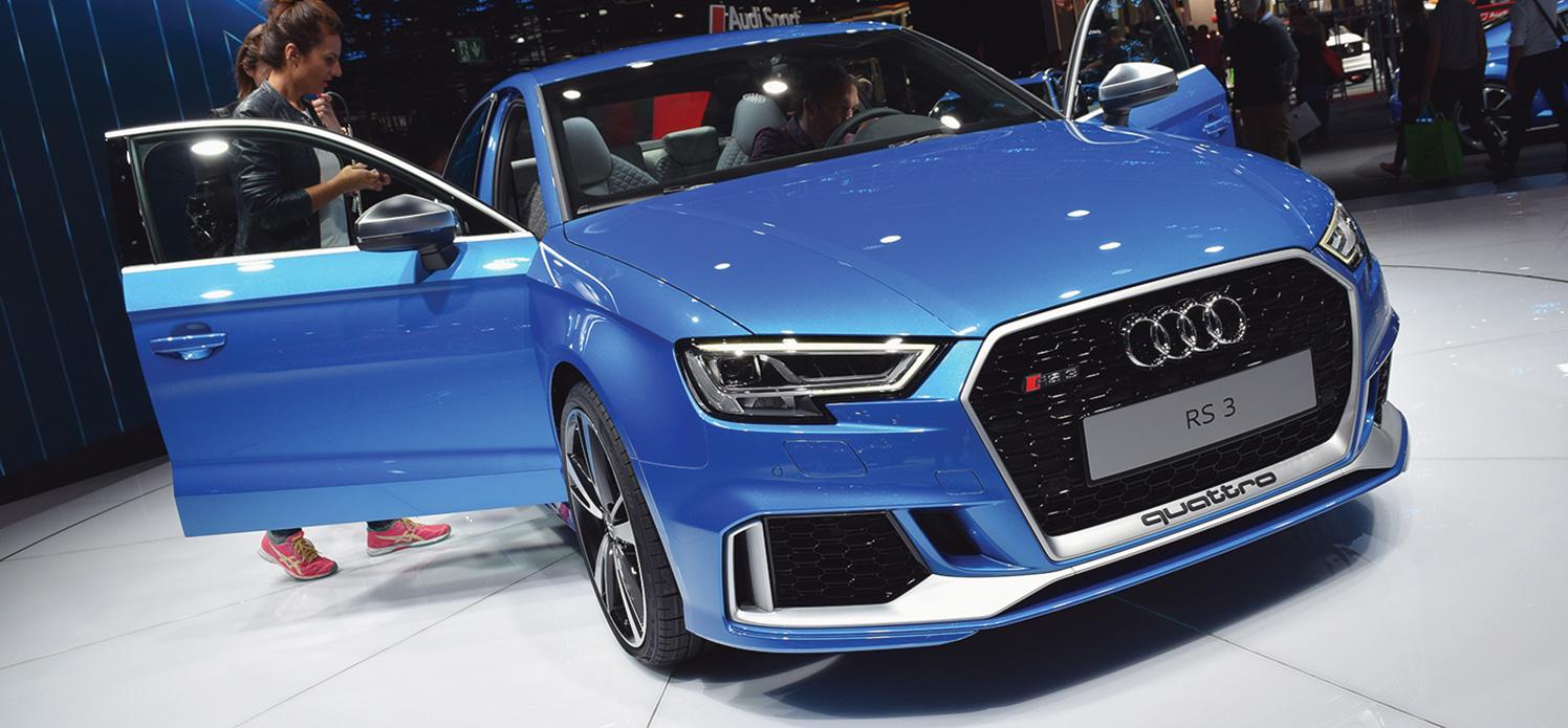 Audi Rs3 Sportback Saloon Colour Guide