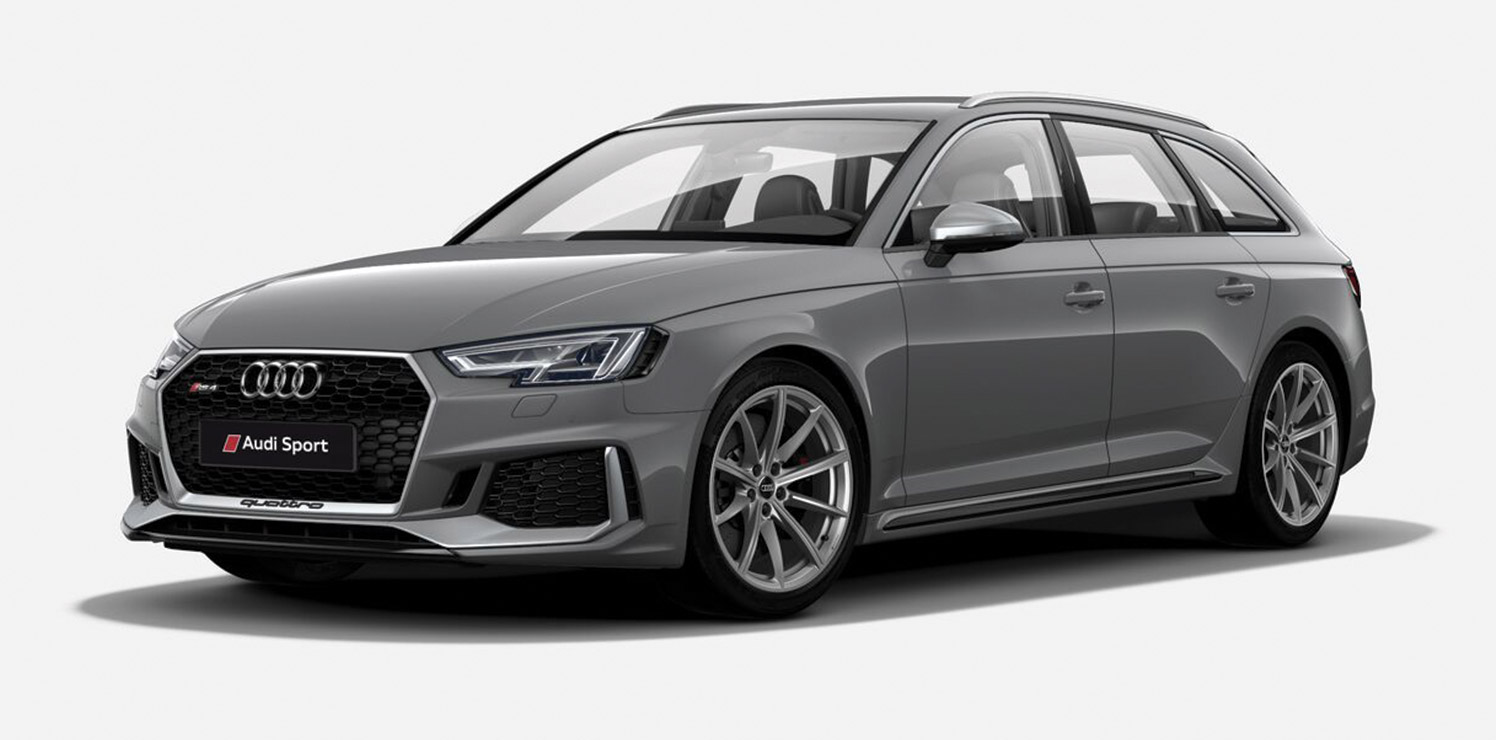 2018 Audi RS4 Avant Colour Guide and Prices