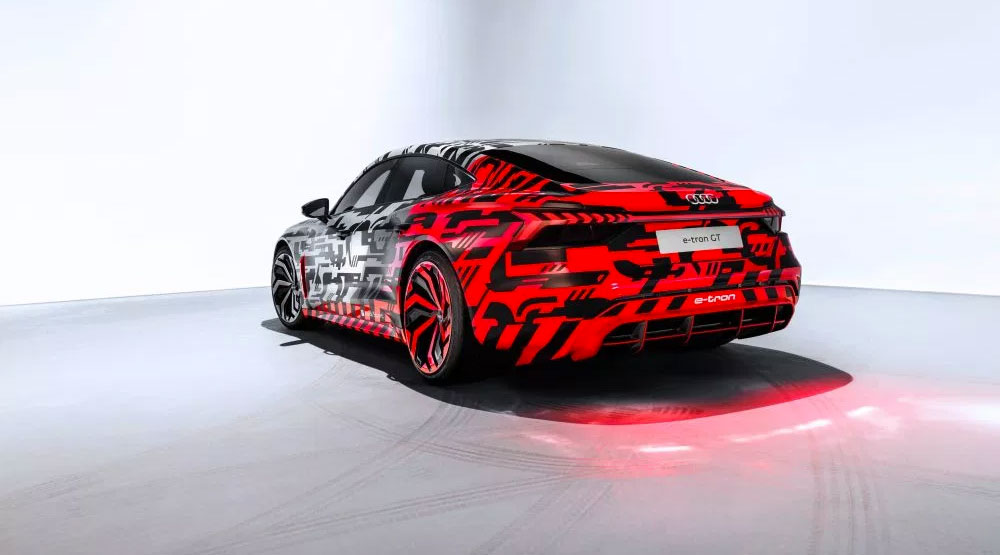 Audi Unveils The Camouflage e-Tron GT Performance Ahead of ...