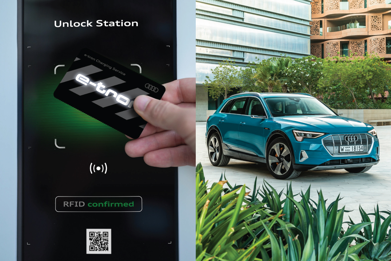 e-Tron Charging Service Goes On-Grid