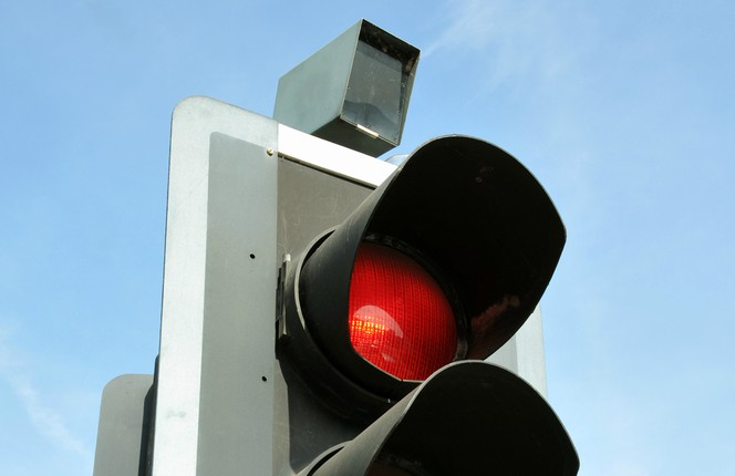 Running a red light, what are the consequences?