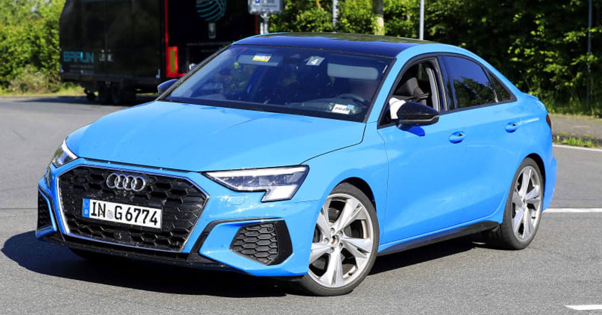 New 2020 Audi S3 Saloon and Sportback spied on
