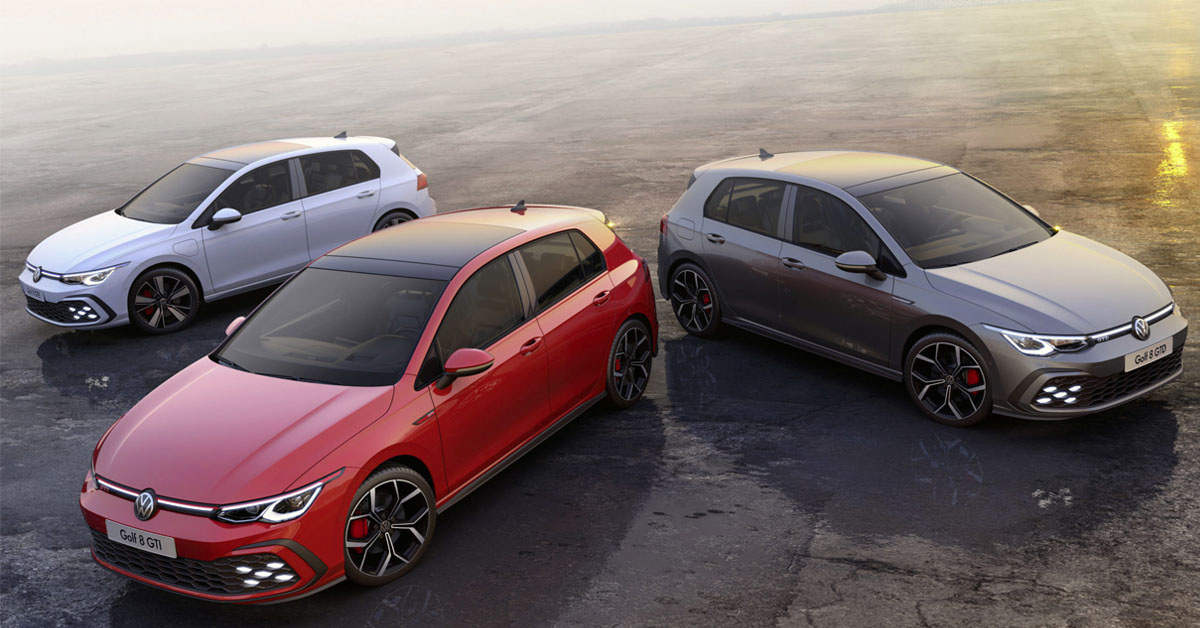 2020 Volkswagen Golf GTI & GTD Mk8 Now Available