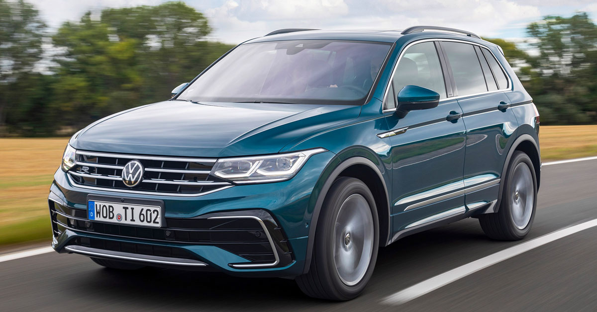2020 Volkswagen Tiguan Colours Guide and Prices