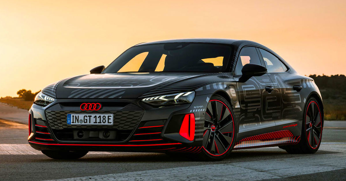 Meet the Audi RS e-tron GT
