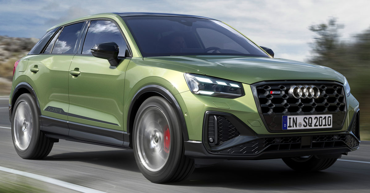 The Audi SQ2 Gets A Facelift For 2020
