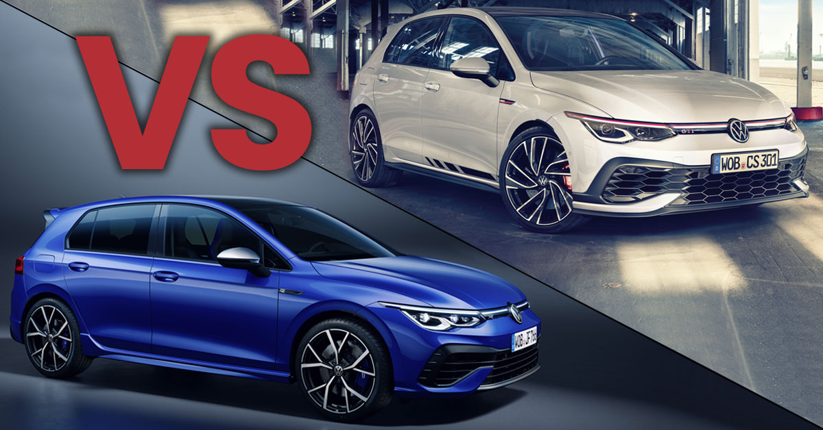 VW Golf R Mk8 vs Golf GTI Clubsport | Which Should You Choose?